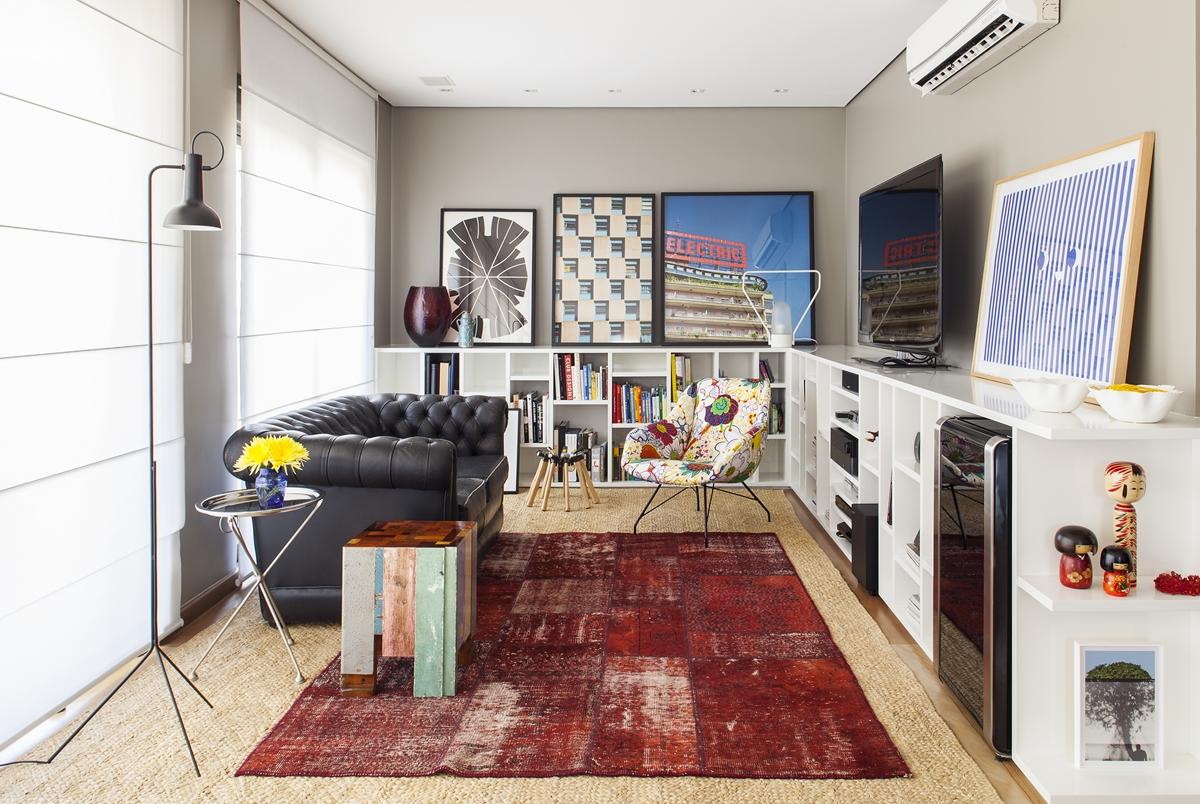 Tamanho Tapete Sala De Tv ~ Decoração moderna quadros para não serem pendurados