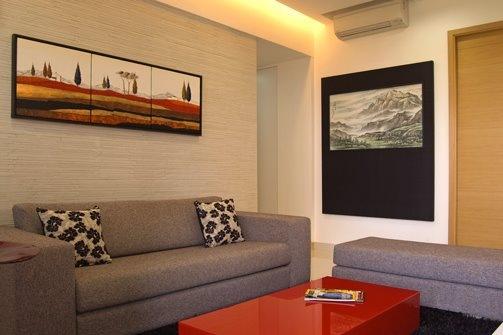 10 inspirações de salas de estar decoradas com quadros