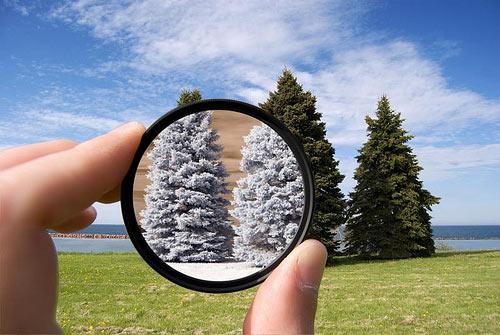 O mundo mágico das fotografias em infravermelho
