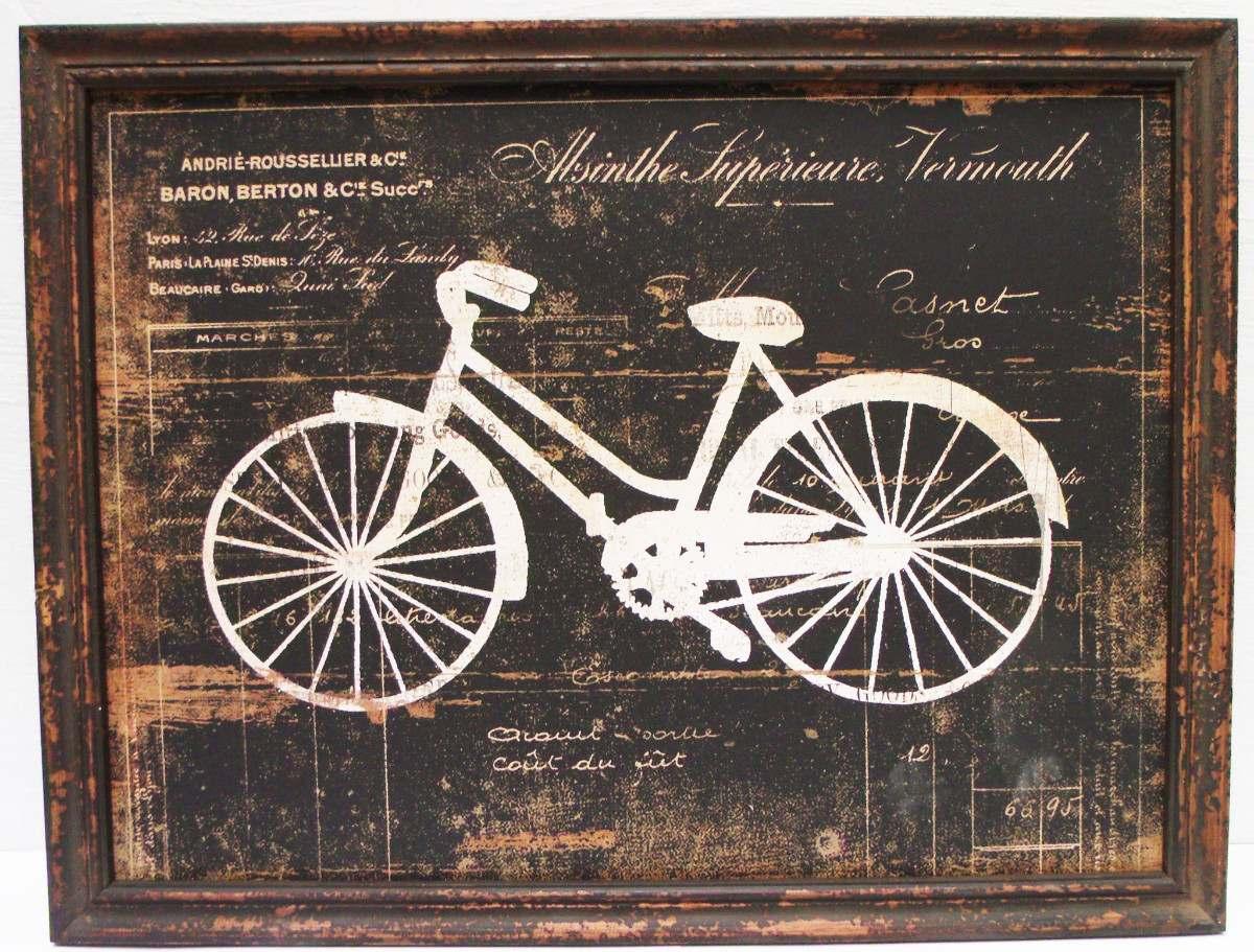 Quadros decorativos com bicicletas: inspire-se!