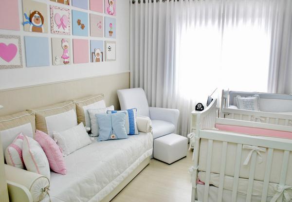 Quadros para quarto de bebê menina ~ Quarto Casal De Gemeos