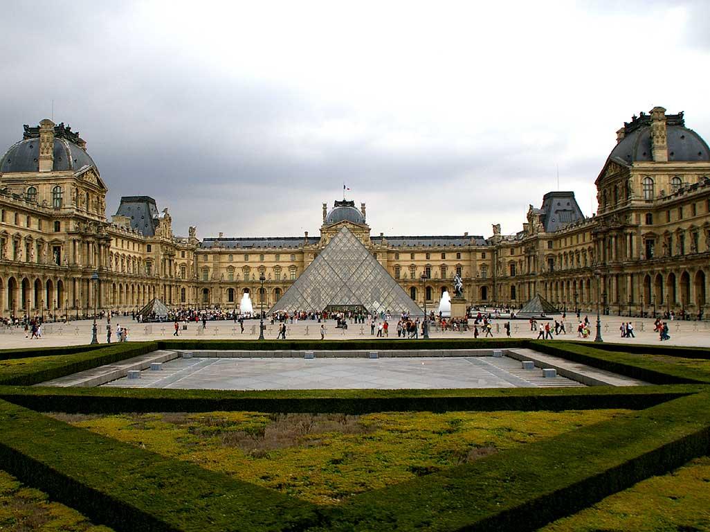 Quadros do Museu do Louvre
