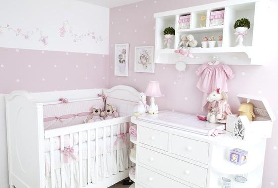 Quadros para quarto de bebê menina