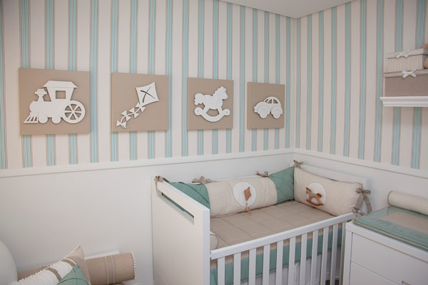 Quadros para quarto de beb menino for Objetos decoracion habitacion bebe