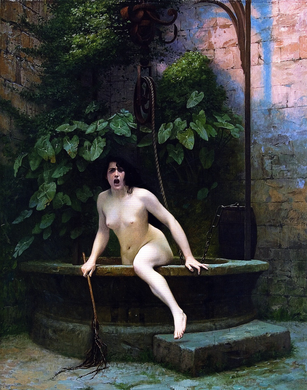 """""""Truth Rising from her Well"""" (1896)"""