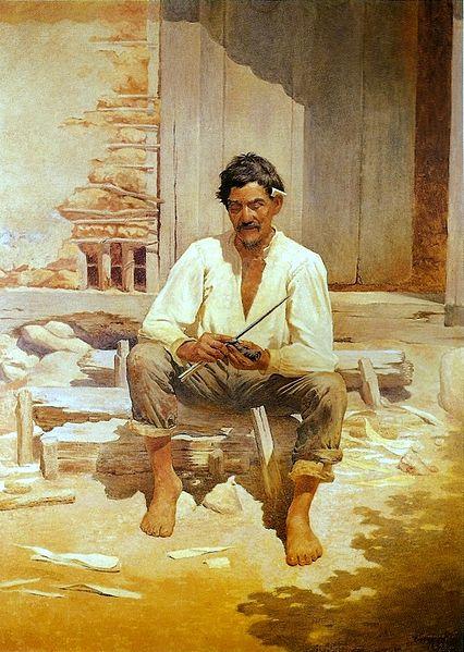 Caipira Picando Fumo (1893