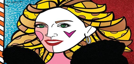 Romero Britto na decoração – um retrato pop