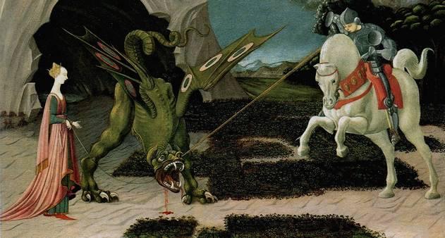 Foto_Texto10_São Jorge e o dragão