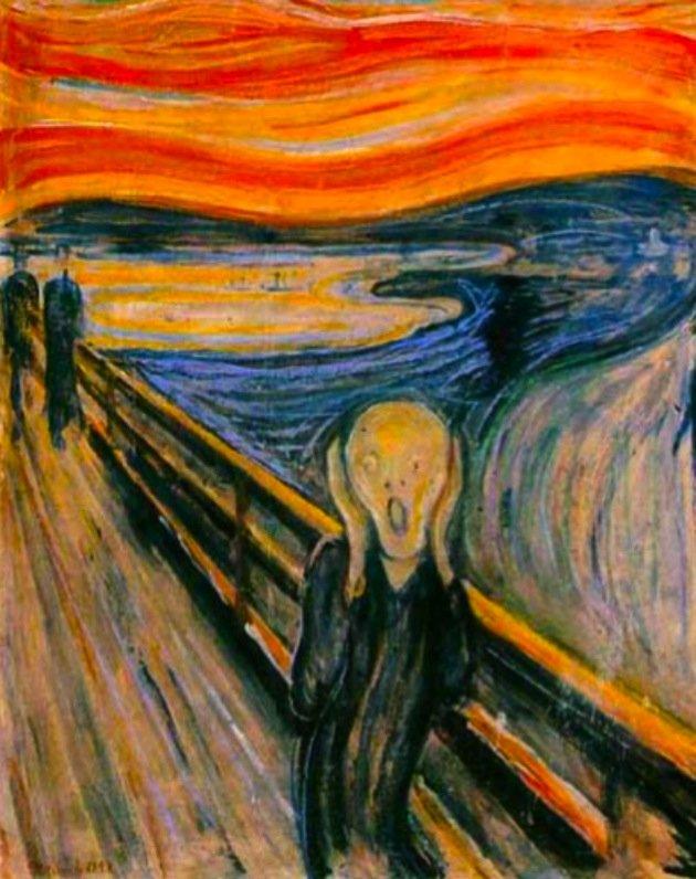 O Grito, pintura de Edvard Munch (1893)