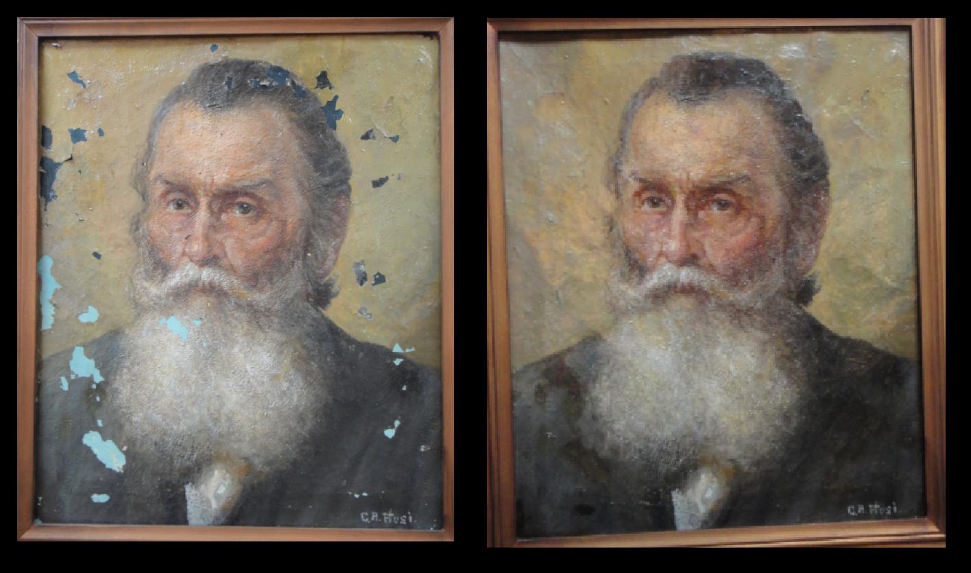 Restauração de quadros