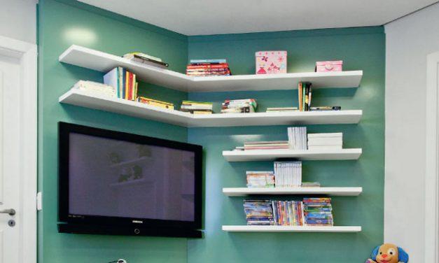 Decorando uma sala de TV sem sofás