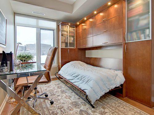 Ambientes multifuncionais: home office e quarto de hóspedes